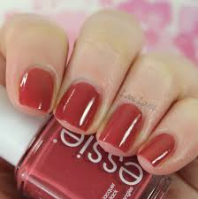 essie gel setter top coat u0026 in stitches nail polish review lani