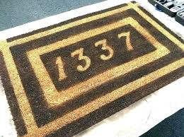 Personalized Outdoor Rugs Outside Door Mats Outside Door Mats Customized Front Door