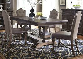 dining table 7pc set 535 dr in cordovan brown by liberty lucca dining table 7pc set 535 dr in cordovan brown by liberty