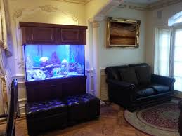 Livingroom Manchester Living Room Wood Sofa Burl Wood Coffee Tables Aquarium Room