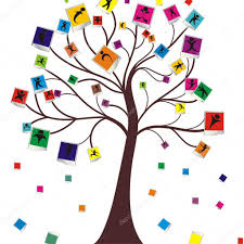 Wish Tree Wish Tree For Your Design U2014 Stock Vector Alex Best 13526330