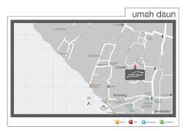 mapping layout perusahaan the locale villa umah daun umalas 5 bedroom luxury villa bali