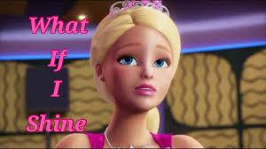 barbie rock royals shine music video