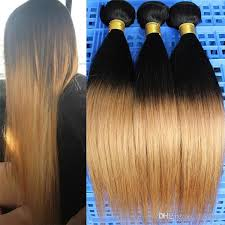picture of hair sew ins 10 30 3 or 4 bundles virgin straight brazilian human ombre hair