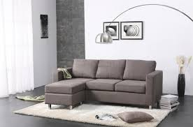 L Shaped Fabric Sofas Living Room L Shaped Gray Fabric Sectional Sofa Nice Pattern