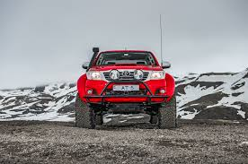 toyota truck hilux going viking in iceland with an arctic trucks toyota hilux at38