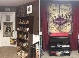 chambre theme une maman décide de faire une chambre sur le thème d harry potter