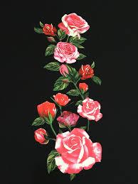 aliexpress com buy polyester soft linen dress fabric sicily rose