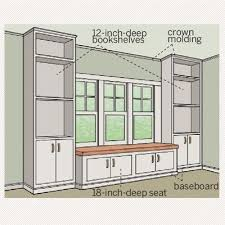 How To Build In Bookshelves - all about window seats blank walls storage shelves and shelves
