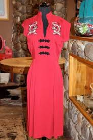 from red dress shoppe the stop staring 1930 u0027s mystere dress