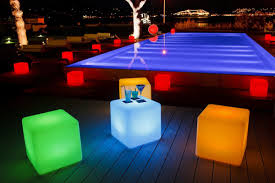 Led Light Bar Color Changing by Led Light Cube Chair Rgb Color Change Landscaping Bar Nightclub