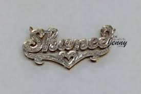 Name Chains Gold Hip Hop Jewelry