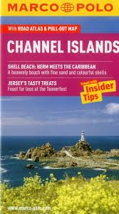 Channel Islands Map Channel Islands Marco Polo Pocket Guide Marco Polo Travel Guides