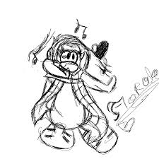 club penguin coloring pages cadence