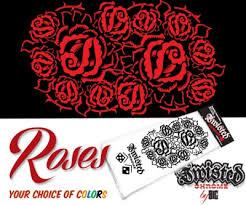 tattoo style pinstripe design u2015 twisted chrome custom vinyl