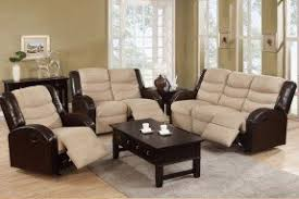 Microfiber Recliner Sofa by Recliner Sofa And Loveseat Sets Foter
