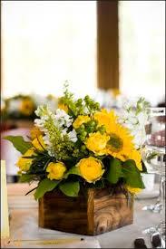 Sunflower Arrangements Ideas Royal Blue U0026 Sunflower Yellow Summer Wedding Summer Weddings