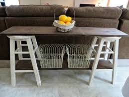 Make A Sofa by How To Make A Sofa Table Best 20 Diy Sofa Table Ideas On Pinterest