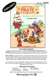 how to be a pirate reproducible book cd j w pepper sheet