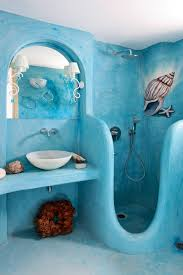 Blue Bathrooms Decor Ideas Unique Colorful Bathroom Decor Ideas Orchidlagoon Com