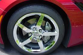 corvette stingray tires fs for sale chrome wheels and tires set corvetteforum