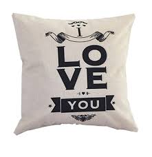 Outdoor Pillows Sale by Cushion Cover Letter Printing Sofa Bed Festival Home Decoration