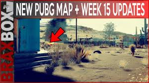 pubg patch notes new pubg map week 15 patch notes youtube