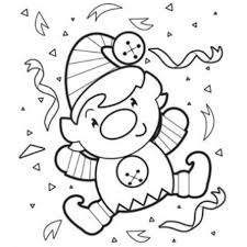 elf coloring pages getcoloringpages