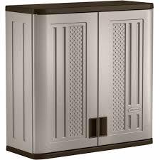 Plastic Storage Cabinet Garage Cabinets Garage Storage Garden Tool Organizer