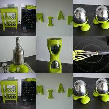 objets déco vert objet deco cuisine vert anis urne de mariage