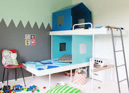 chambre lit superposé les lits superposés