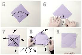 Step By Step Origami For - how to make an easy origami butterfly
