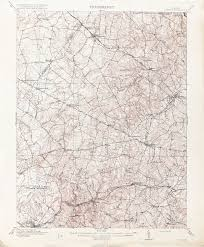 Map Of Northern Virginia Virginia Historical Topographic Maps Perry Castañeda Map