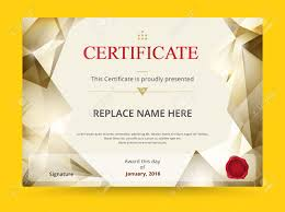 Prize Certificate Template Geometry Diploma Certificate Template Design With International