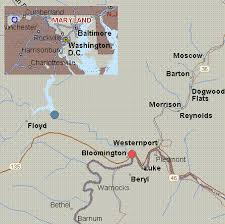 Maryland rivers images Map for savage river maryland white water dam to north branch gif