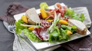 cuisine landaise salade landaise revisitée 1 photo libre de droits sur la banque d