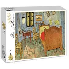 la chambre d arles puzzle vincent gogh la chambre de gogh à arles 1888