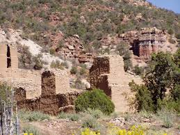 jemez state monument preserving the ruins of a 17th century