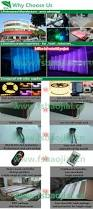 s shape led aquarium home decoration indoor waterfall view
