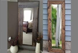 rustic full length mirrors ideas youtube