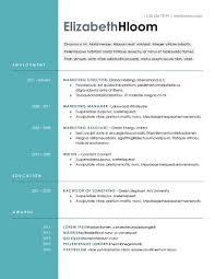 hongdae modern resume template modern resume template