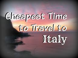 Getting There U0026 Around Italian by Cheapest Time To Travel To Italy Wanderwisdom