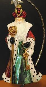 new komozja mostowski glass ornament snow white 7 wooden