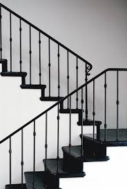 What Is Banister Custom Fabricated Metal Balusters Handrail Stair Banister