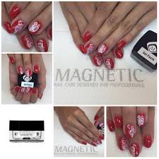 more great designs with gel paste 106800 nail art by magnetic