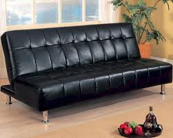 Convertible Sofa Beds Furniture Armless Convertible Sofa Bed In Black Co300118