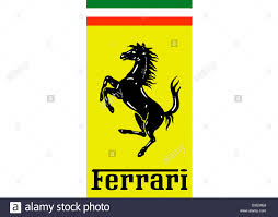 Ferrari Logo Flag Symbol Icon Emblem Stock Photo Royalty Free