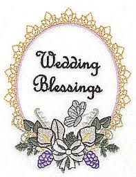wedding blessings wedding design large with text br 4 03w x 4 97h deer s