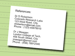 how to write references on resume how to write a technical resume 9 steps with pictures wikihow