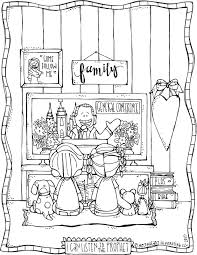 81 coloring page lds the first vision joseph sees god